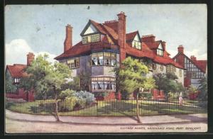 Künstler-AK Port Sunlight, Cottage homes, Greendale Road