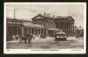 AK Huddersfield, the Railway Station