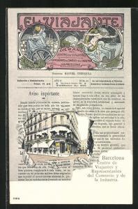 AK Barcelona, Centro de Viajantes y Representantes del Comercio y de la Industria