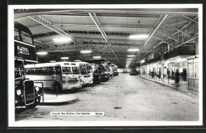 AK Lincolnshire, Lincoln Bus Station, the Interior