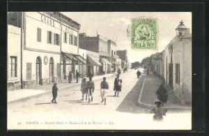 AK Gabes, Grand-Hotel et Boulevard de la Marine