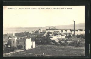 AK Ferryville, Arsenal de Sidi-Abdallah, Le Danton apres sa sortie du Bassin de Radoub