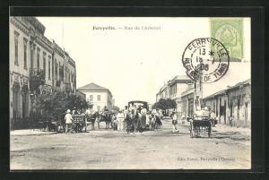 AK Ferryville, Rue de l`Arsenal, Strassenpartie