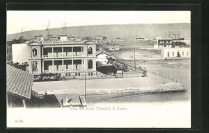 AK Suez, vue de Port Tewfik