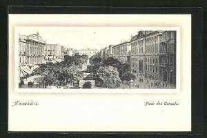 AK Alexandrie, Place des Consuls