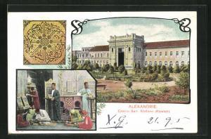 AK Alexandrie, Casino San Stefano, Steinmetze