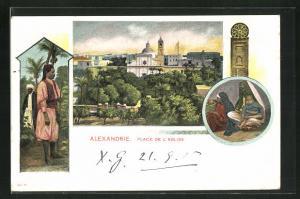 AK Alexandrie, Place de l`Eglise