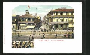 AK Port-Said, Rue du Commerce