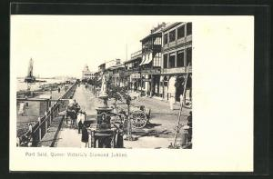 AK Port Said, Queen Victoria`s Diamond Jubilee