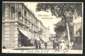 AK Cairo, Shepeards Hotel