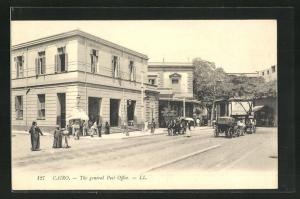 AK Cairo, The general Post Office