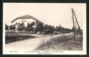 AK El-Hadjeb, L`Hôtel Aux Rochers, Gebäudeansicht