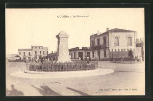 AK Oudjda, Le Monument, Denkmal