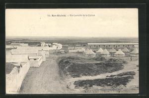 AK Berg-Réchid, Vue partielle de la Casbah, Panorama