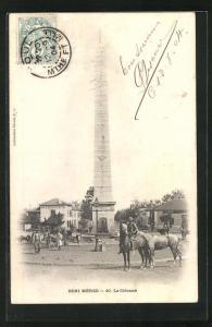 AK Beni Méred, La Colonne, Obelisk