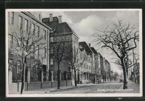 AK Cuestrin / Kostrzyn, Vor der Pionier-Klinke-Kaserne