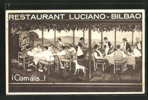 AK Bilbao, Restaurant Luciano