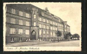 AK Cuestrin / Kostrzyn, Mädchen-Volksschule