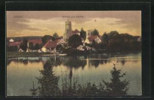 AK Lagow, Schloss und Kirche