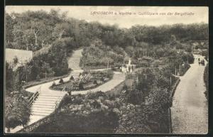 AK Landsberg / Gorzow Wlkp, Quilitzpark von der Bergstrasse