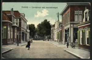 AK Delfzijl, Landstraat met muziektempel