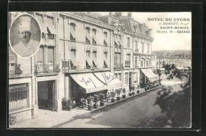 AK Seint-Mihiel, Hotel du Cygne, J. Demoget Propre