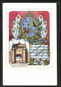 AK Uruguay, Wappen