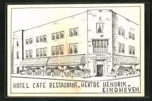 AK Eindhoven, Hotel Cafe Restaurant-Hertoc Hendrik-Eindhoven