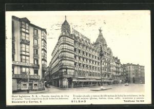 AK Bilbao, Hotel Inglaterra