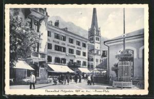 AK Hofgastein, Kaiser-Franz-Platz