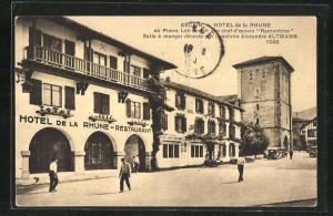 AK Ascain, Hotel de la Rhune
