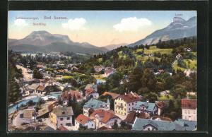 AK Bad Ausee / Salzkammergut, Teilansicht mit Sandling und Loser
