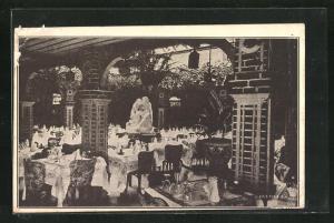 AK New York, NY, Zucca`s Italian Garden, West 49th Street