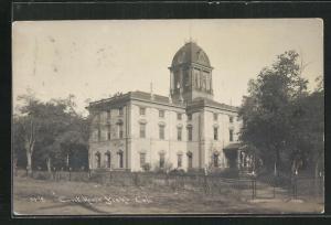 Foto-AK Yreka, CA, Court House, Gerichtsgebäude