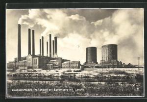 AK Trattendorf, Motiv vom Grosskraftwerk