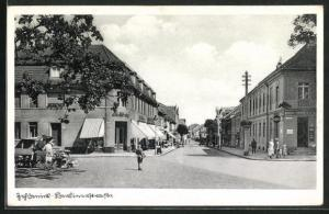 AK Zehdenick, Blick in die Berlinerstrasse