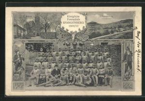 AK Spangenberg, Königl. Forstschule 1909 /10, Absolventen