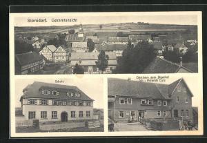 AK Storndorf, Gasthaus zum Jägerhof, Schule