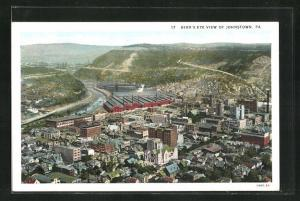 AK Johnstown, PA, Bird`s-Eye View