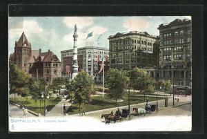 AK Buffalo, NY, Lafayette Square