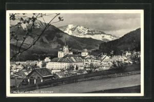 AK Mariazell, Panorama mit Ötscher