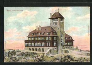 AK Reichenberg / Liberec, Neues Jeschkenhaus