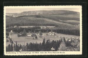 AK Brückenberg, Teilansicht mit Blick nach der Prinz-Heinrich-Baude