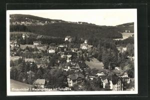 AK Krummhübel, Teilansicht der Ortschaft