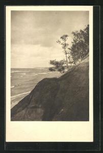 AK Georgenswalde, Dünenbildung am Strand