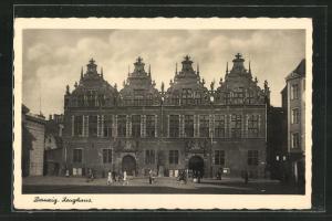 AK Danzig / Gdansk, Ansicht vom Zeughaus