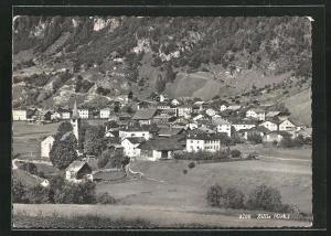AK Zillis, Totalansicht vom Dorf