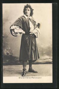 AK Schauspieler Otto Sommerstorff in der Rolle als Glockengiesser