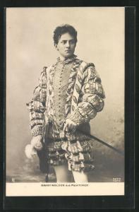 AK Schauspieler Harry Walden in der Rolle als Mortimer