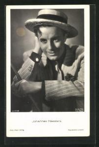 AK Schauspieler Johannes Heesters im Kostüm einer Filmrolle